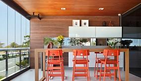 实木吧台设计