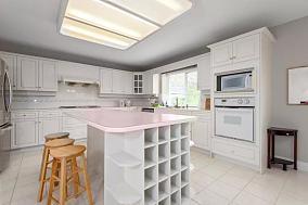 简约白色低调厨房欣赏图