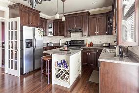新古典精致品格厨房图片