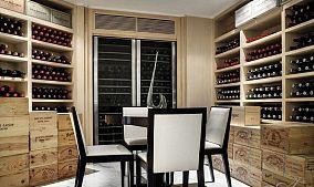现代风格酒柜图片