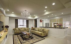 简欧风格客厅吊顶设计