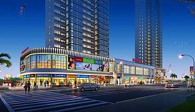 现代风格商业街图片欣赏