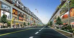 商业街道平面图