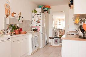 甜美田园风格厨房欣赏图
