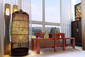 中式小阳台