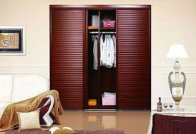 木质挂衣柜