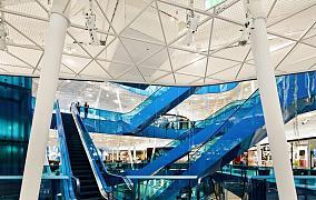 百货商场天井吊顶时尚图