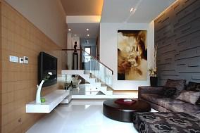 客厅跃层楼梯效果图
