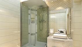 整体浴室带卫生间