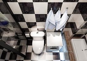 卫生间贴瓷砖图片