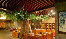 茶馆吊顶图片