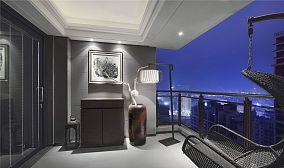 现代美式阳台装修效果图