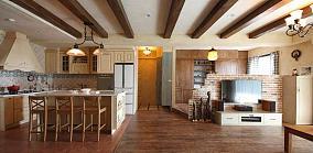 混搭工业复古气氛一居室图片