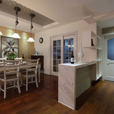 美观美式厨房推拉门