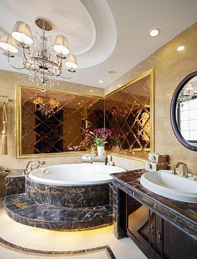 豪华欧式浴室效果图
