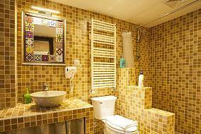 卫生间格子瓷砖装修效果图