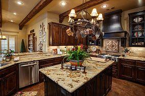 实木艺术厨房