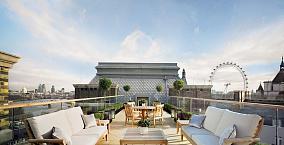别墅阳台景观设计