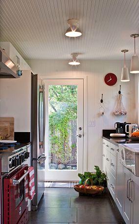 小户型厨房门