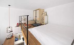 禅意日式简单卧室效果装修图