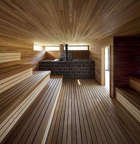 木质别墅汗蒸房