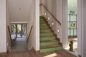 美式楼梯踏步效果图