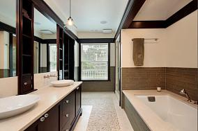 卫生间鹅卵石墙面