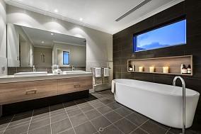 半开放卫生间设计