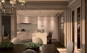 简欧浪漫厨房设计效果图