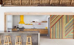 创新厨房装修效果图