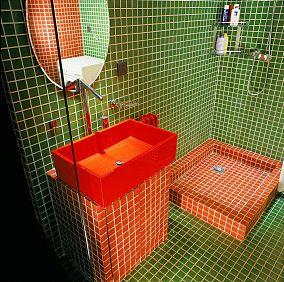 复古个性卫生间装修效果图