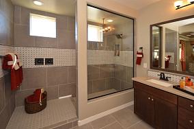 玻璃隔断卫生间装修