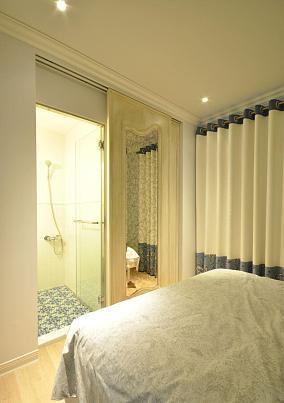 主卧卫生间门对着床