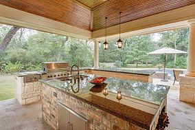 凉台厨房装修效果图