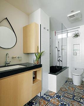 紧凑型卫生间设计