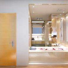 宾馆玻璃卫生间图片