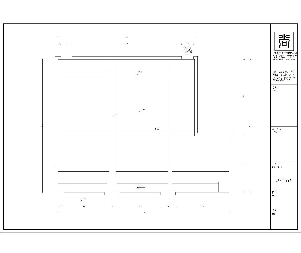 办公室前台设计图