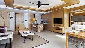 80平米两室一厅装修设计效果图片
