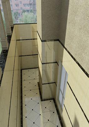 阳台飘窗装修