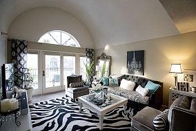 客厅窗帘装饰图