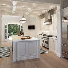 自然风格厨房