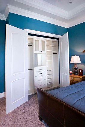 卧室壁橱效果图