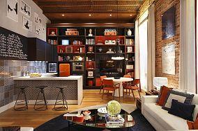 家装客厅吧台