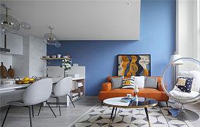 清新简约风格公寓设计效果