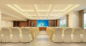 大型会议室布局