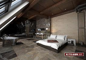莫尼卡-卧室-LOFT工业风格