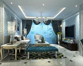 客厅欧式装修风格