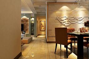 客厅与餐厅的隔断设计