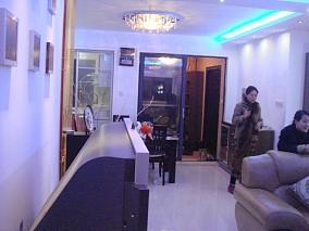 中海塞那丽舍客厅1图现代简约设计图片赏析