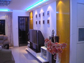 中海塞那丽舍客厅4图现代简约设计图片赏析